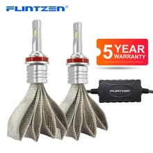 Flintzen 2pcs 6000K h7 led auto fari h1 h11 9006 9005 9012 h4 ha condotto la lampadina auto Automobili Luci CSP led auto faro DC10 24V