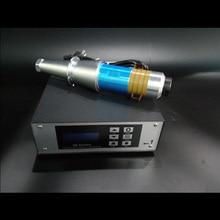 15 кГц 2000 Вт Ультразвуковой сварочный генератор и преобразователь для ультразвукового сварочного аппарата