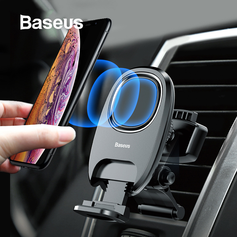 Baseus Magnetic Car Phone Holder For iPhone X XS MAX Air Vent Mobile Phone Holder in car Magnet Auto Mobile Support Stand Mount mobile phone