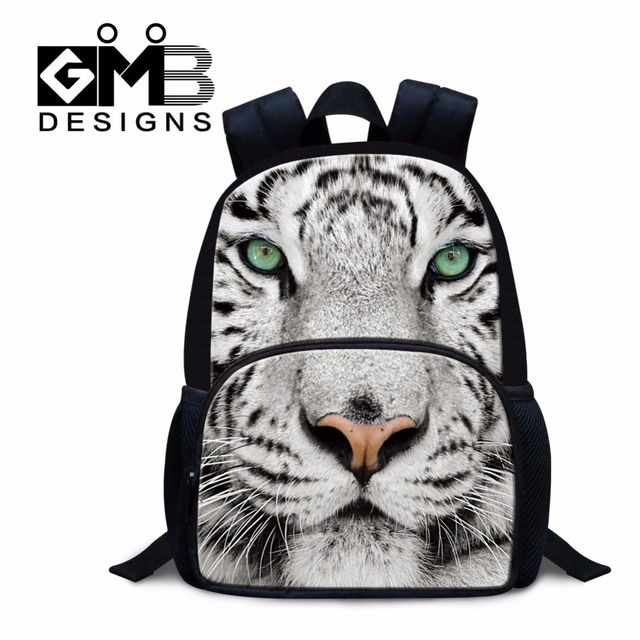 59b41f98e847 Mini Preschool bags for girls kids animal small backpacks dog printed bookbag  tiger lightweight backpacking bag for boys mochila