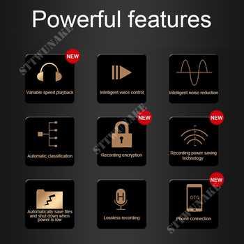 STTWUNAKE professional Audio Voice Recorder Digital HD Dictaphone Mini hidden denoise long-distance HiFi original MP3