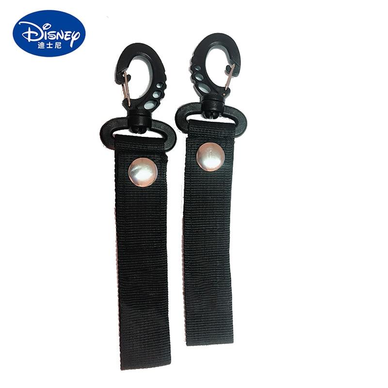 Disney Baby Stroller Accessories 2Pcs Buggy Clip Pram Pushchair Carriage Stroller Hook Shopping Bag Clip Stroller Accessories