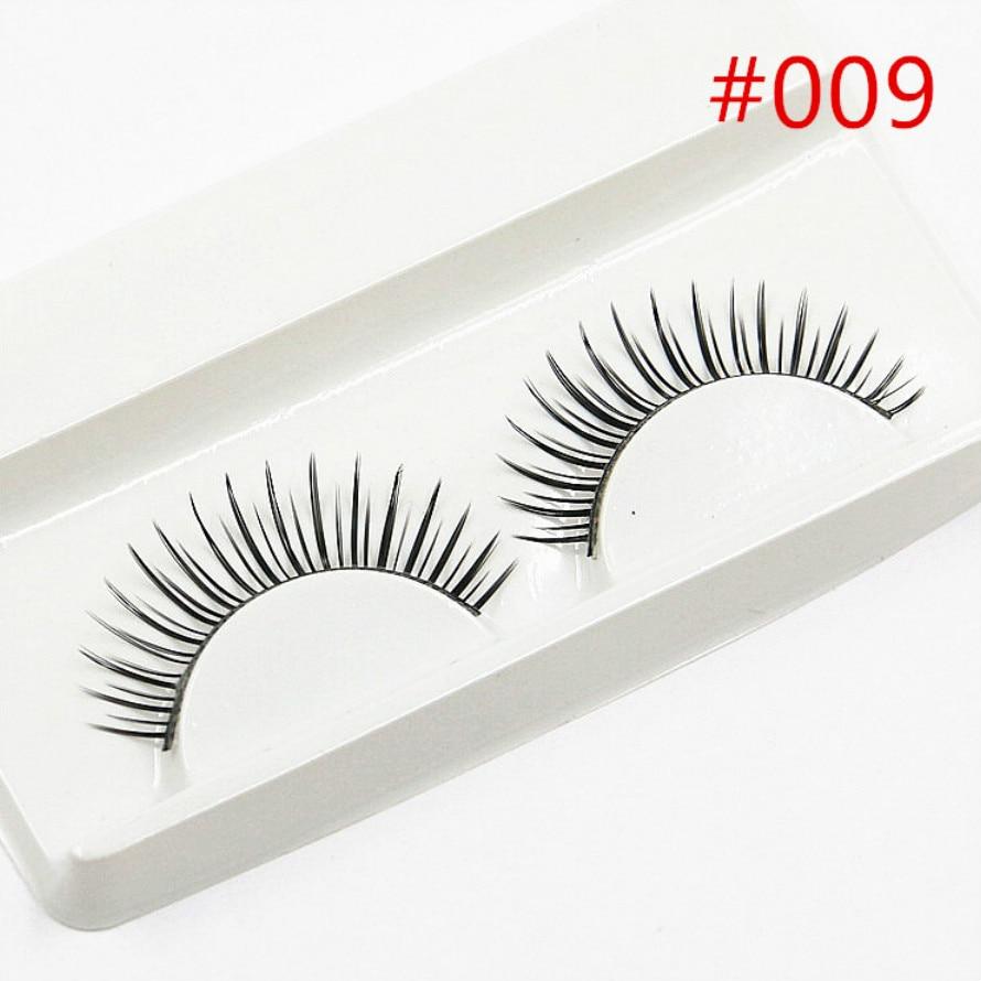 Beauty & Health 100% Quality New 1 Pair Peach Heart False Eyelashes Korea Natural Naked Makeup Long Mink Eyelashes Handmake Eye Lashes Makeup Kit Gift #014