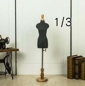 1/3Female dresses form Mannequin,play jewelry flexible women sewing,1:3scale Jersey bust ,adjustable rack,Small Mini Size,M00021