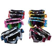 사이클링 안경 야외 고글 스키 스케이트 안경 카페 레이서 Oculos Motocross 고글 오토바이 MX MTB Enduro 쿼드 헬멧 안경