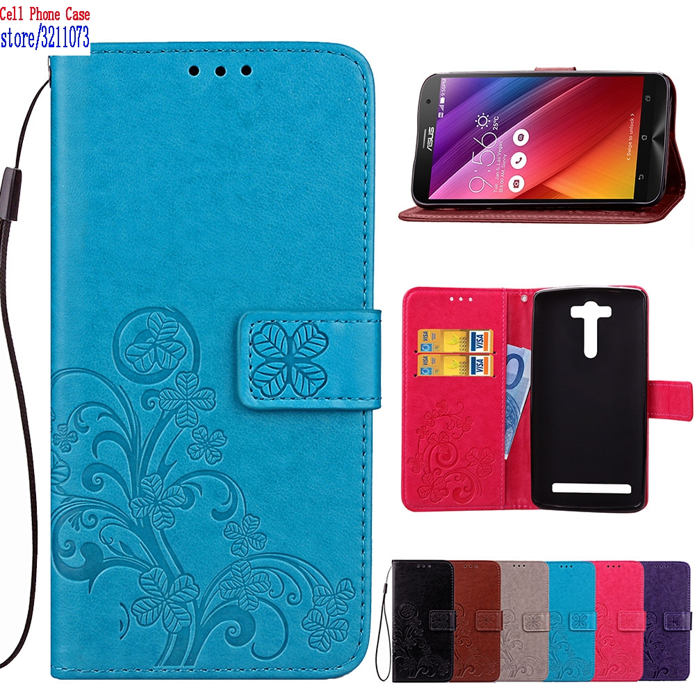 Flip Case for ASUS Zenfon 2 Laser Z00LD ZE550KL <font><b>ZE</b></font> 550KL <font><b>550</b></font> ZE550 <font><b>KL</b></font> Case Phone Leather Cover for ASUS_Z00LD 5.5 inch Cases image