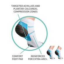 Compression socks Men Compression Ankle Socks Miracle Foot Socks Anti Fatigue Plantar Fasciitis Heel Spurs Pain