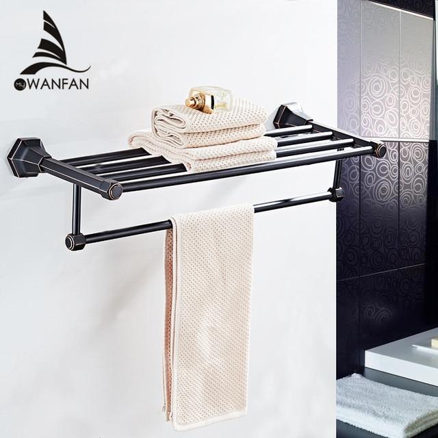 Badezimmer Regale Hohe Qualität Wand Montiert Schwarz Verchromt ...
