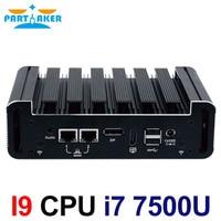 Intel Core i7 7500U Kaby Lake Mini PC Windows 10 DDR4 NUC fanless pc Graphics HD 620 Wifi 3G 4G HTPC HDMI Mini DP