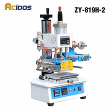ZY-819H-2 автоматическая промышленная машина горячего тиснения фольги, RCIDOS деревянные Марки/Название карты брендинг машины, кожа sor 220 V