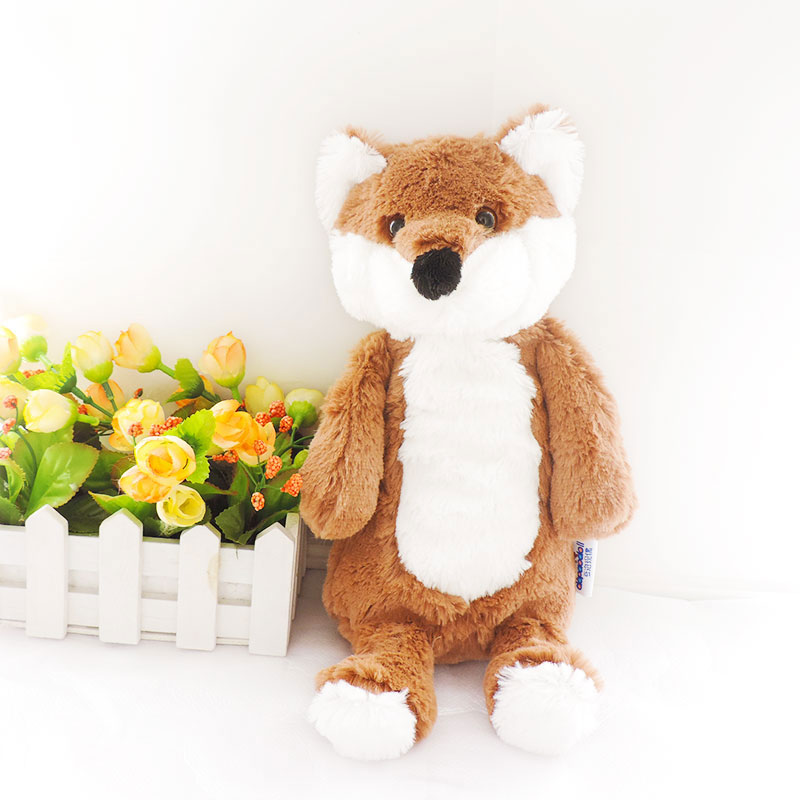 1pc Small Cute Plush Animals Foxes Dolls Peluche Fox Purses Pencil Cases Bags Kids Toys for Children Birthday Gifts 4 colors hot sale 12cm foreign chavo genuine peluche plush toys character mini humanoid dolls