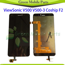 Touch Screen For ViewSonic V500 V500-3 LCD Display Screen Touch Digitizer Sensor Complete Assembly
