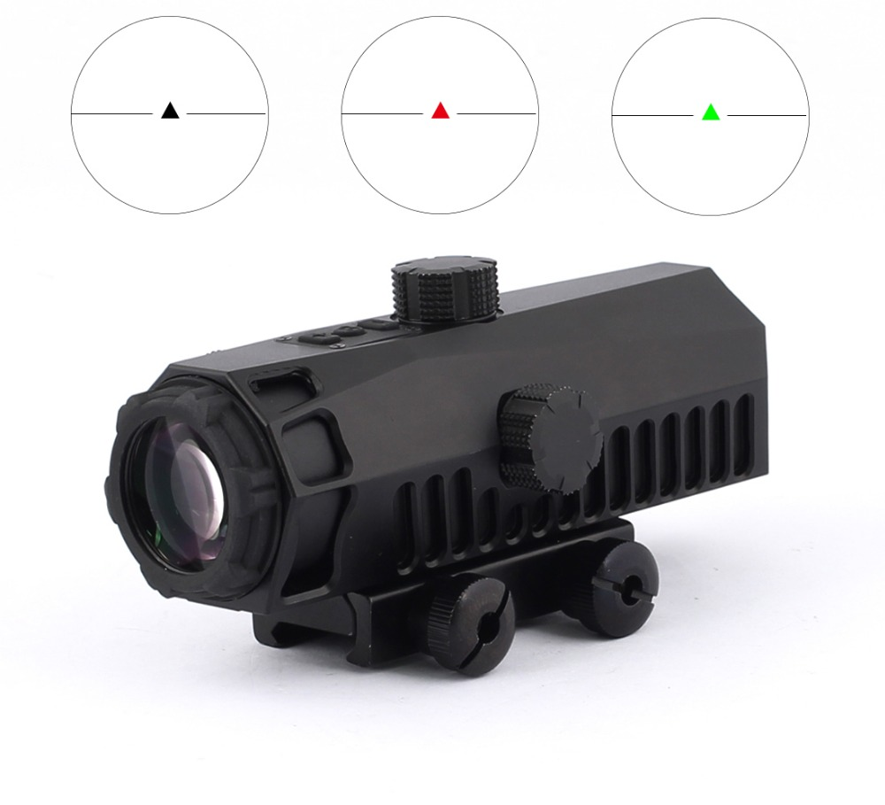 SPINA OPTICS Tactical 151-4x32 Adjustable Rifle Scope With 3 Color Reticles Dot Sight For Airsoft Air Gun Hunting