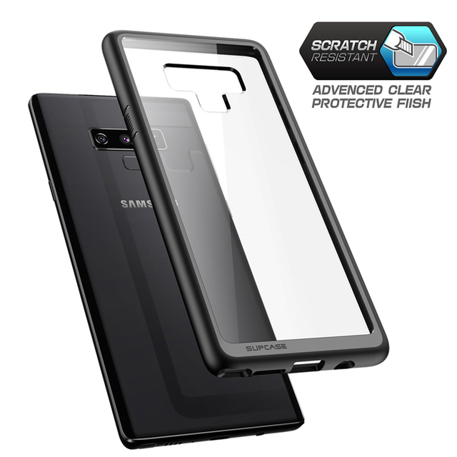 separation shoes 13d18 fd6a4 US $11.04 15% OFF|For Samsung Galaxy Note 9 Case SUPCASE UB Style Premium  TPU Bumper Clear PC Back Case Hybrid Protective Cover For Samsung Note 9-in  ...