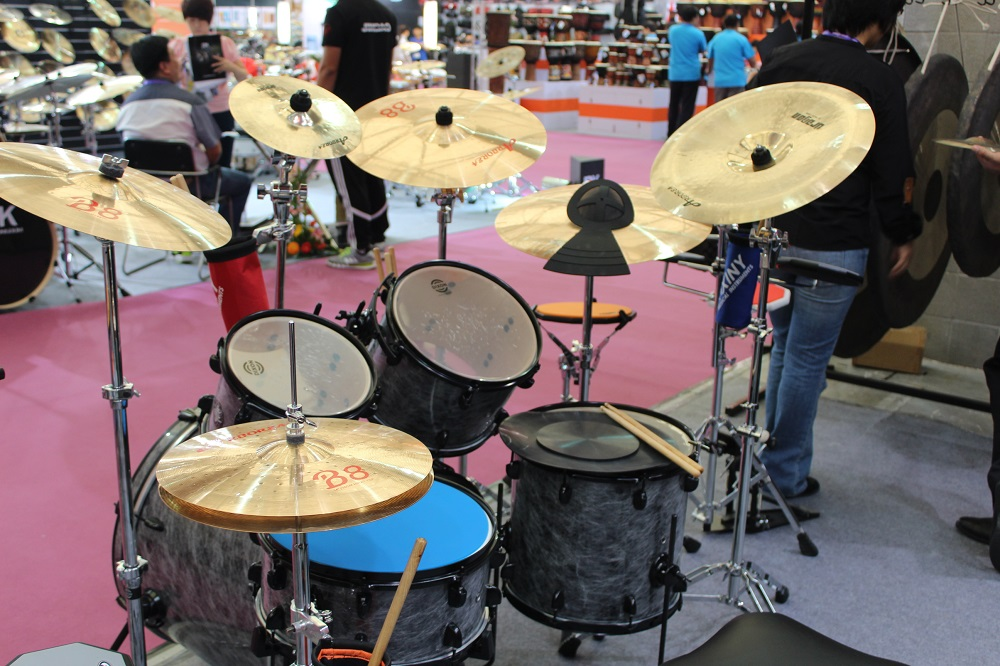Best practice cymbal Arborea B8 series cymbal set: 14