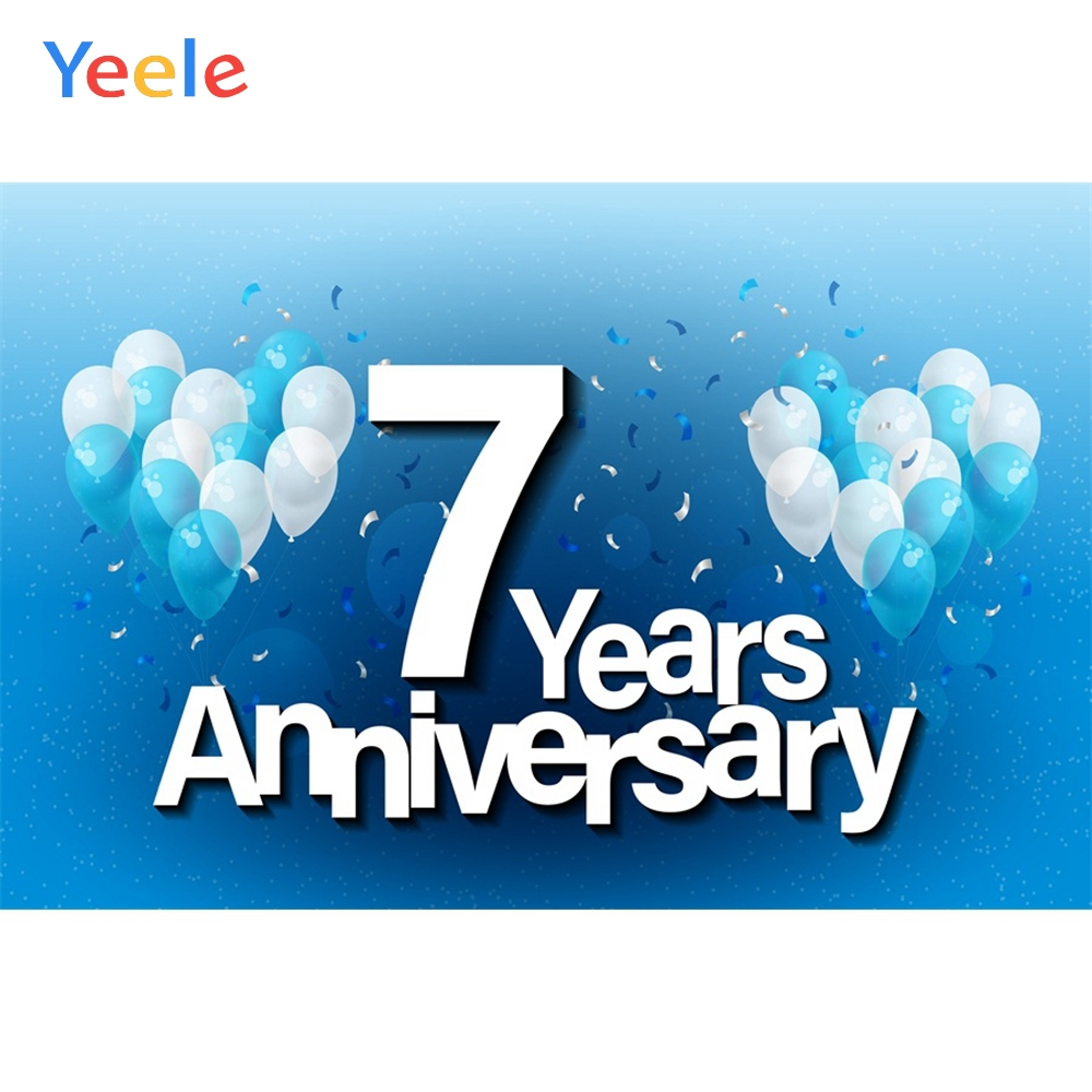 Yeele Anniversary Photocall Special Day Balloons Photography Backdrops Personalized Photographic Backgrounds For Photo Studio in Background from Consumer Electronics