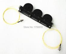 Tricíclicos mecánico de fibra Fibra De Polarización polarización controlador Manual Controlador cargado FC/UPC conectores