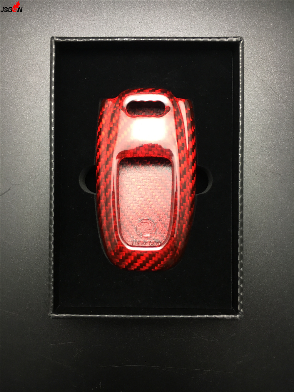 Karbon Fiber Koruyucu Uzaktan Anahtar Fob Vaka Kapak Için Audi A4 A4L A5 A6 A6L A7 A8L Q5 Q7 S5 SQ5 S6 S7 S8