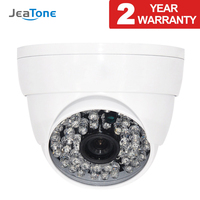 JeaTone HD CCTV 1200TVL Camera Home Security Surveillance with IR Cut Night Vision 48 Led Up to 130ft Analog camera for home use