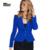 MISS XXL 2016 Primavera Mulheres Jaquetas Ternos Escritório Formal Elegante Blazer Preto Fino Trabalho de Manga Longa Das Senhoras Casacos Formais T3B24