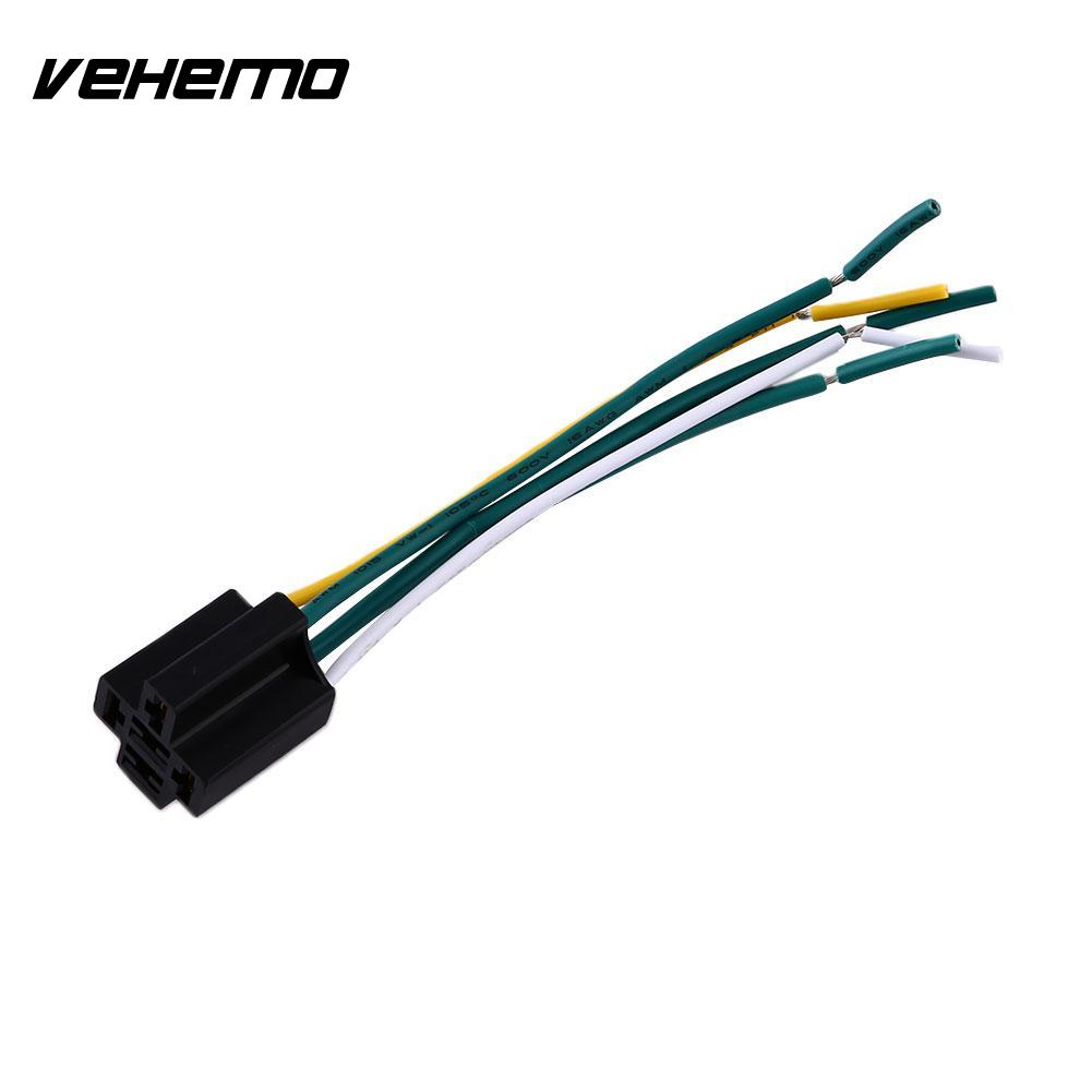 Vehemo Car 12v 30 40a Install Amp Style 5 Pin Wire Relay Wiring A Changeover Harness Socket In Switches Relays From Automobiles Motorcycles On
