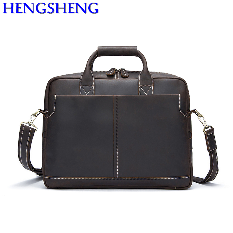 Free Shipping newly design cow leather men messengers bag of genuine leather men travel bag and leather male shoulder bags 2018 newly design men s genuine real 100