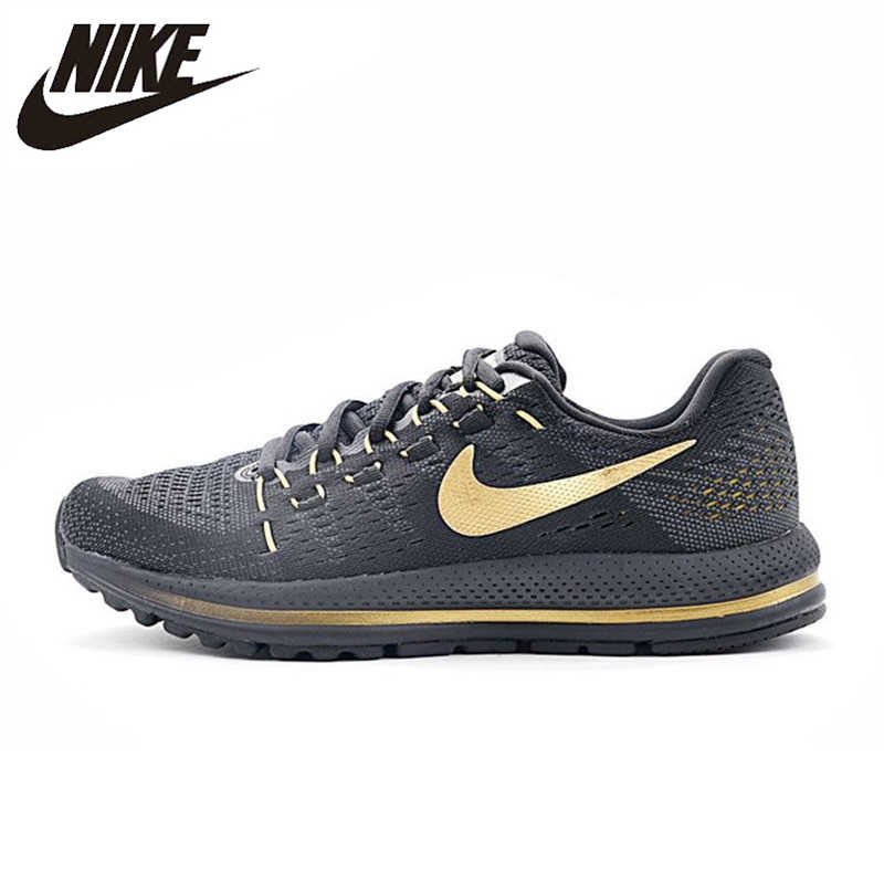 NIKE AIR ZOOM VOMERO V12 dos homens Respirável Running Shoes Sports Sneakers Formadores 863762-008