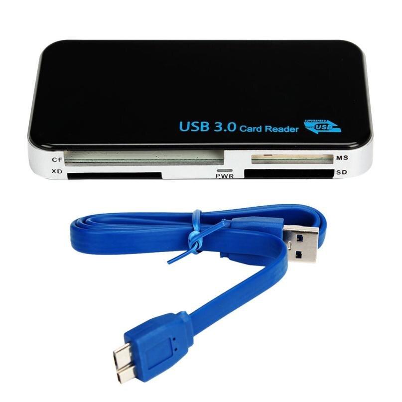 Vente chaude USB 3.0 Compact Flash Carte Mémoire Lecteur Adaptateur Pour TF SDHC CF Micro SD