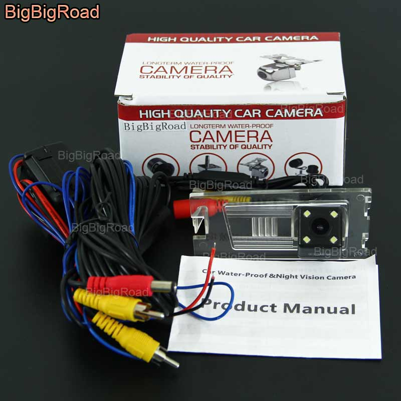 BigBigRoad Car Rear View Reverse backup Camera with power relay filter For font b Jeep b