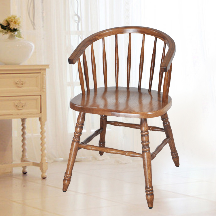 luxury home furniture ash wood vintage dining chair for restaurantcafe dining room furniture dining wooden arm chair design ch177 natural side chair walnut ash