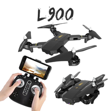 LYZRC L900 New RC Helicopter Drone Wifi FPV Selfie Drone 720P/1080P Camera Foldable Arm Altitude Hold RC Quadcopter jjrc h47 2017 new elfie plus mini selfie drone with camera hd 720p wifi fpv gravity sensor altitude hold foldable quadcopter