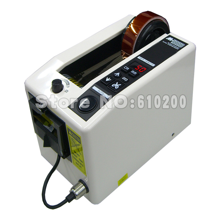 Automatic packing tape dispenser M 1000 Tape adhesive cutting cutter machine 220V
