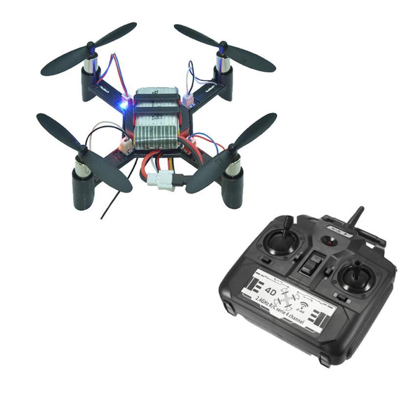 DM002 Mini 2.4G 4CH 6-Axis One Key Return LED DIY RC Quadcopter RTF Transmitter