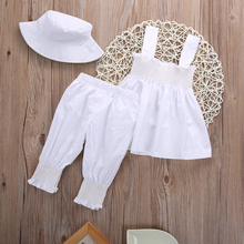 3pcs  Floral Top Shirt Casual Hat and Pant Outfit
