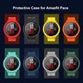 SIKAI Часы чехол для HUAMI AMAZFIT темп защитный механизм чехол для Huami AMAZFIT темп умные спортивные часы аксессуары ПК чехол - фото