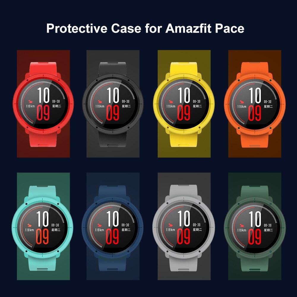 SIKAI Uhr Fall Für HUAMI AMAZFIT Tempo Schutz Bewegung Fall Für Huami AMAZFIT Tempo Smart Sport Uhr Zubehör PC Fall