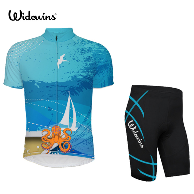 Quick Dry Breathable Cycling Jersey Beautiful seabed Short Sleeve Summer Shirt  Bicycle Wear Racing Bike Cycling Clothing 5273. WINTER SALE eb55103de