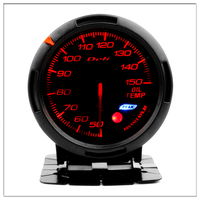 DEFI Oil Temperature Gauge For ford focus 1 2 mondeo mk3 mustang 50 150 Signal With Colorful light 12V Car Boost Gauge saat 60mm