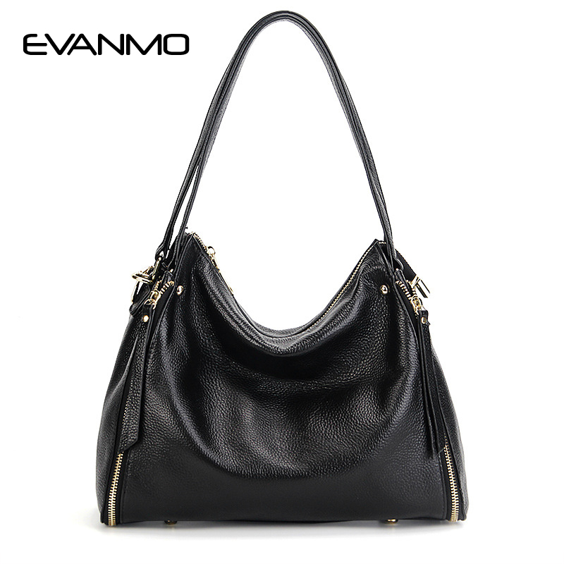 Women Handbags Tote Bags Female Genuine Leather Shoulder Bags Large Capacity Office Crossbody Bag Shopping Casual Handbag Sac stylish silver plated cut out rhinestone heart earrings for women