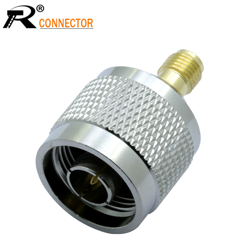 1pc N Male To SMA Female RF Coaxial Cable Adapter Jack Connector Jack For Cell Phone Mobile Signal Booster Repeater Amplifier