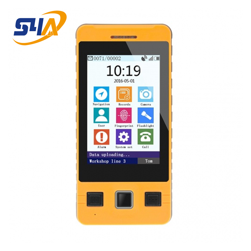 Fingerprint Touch-screen Multi-function Guard Tour Probe With Tft 3.5 Screen