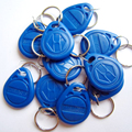 125KHz Blue color RFID  Key Fob for Access Control System