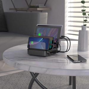 Мульти USB зарядное устройство, Seenda 5 портов 50 Вт мульти зарядная станция для сотового телефона и планшета и больше USB устройств