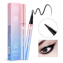 ROREC Black Waterproof Eyeliner Sweat Resist lasting Eye Liner Pencil Makeup Tools Charming Cosmetic