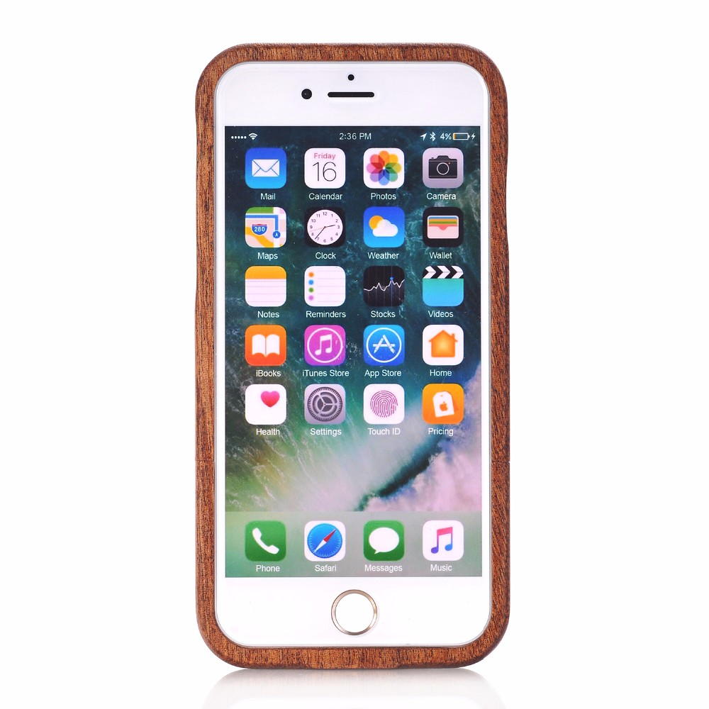 Natural Green Real Wood Wooden Bamboo Case For iPhone XS Max XR X 8 7 6 6S Plus 5 5S SE Case Cover Phone Shell Skin Bag