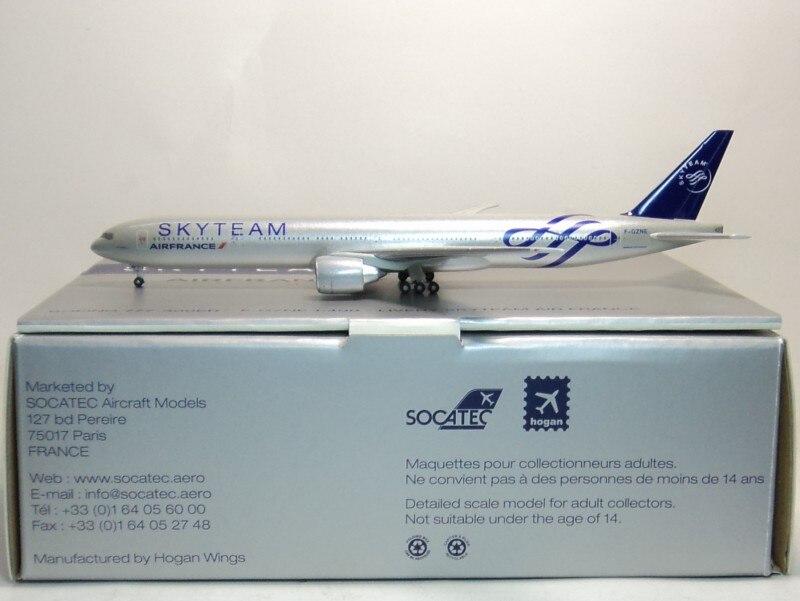 1:500 AIRFRANCE SKYTEAM B777-300ER Hogan France aviation F-GZNE 1 400 jinair 777 200er hogan korea kim aircraft model
