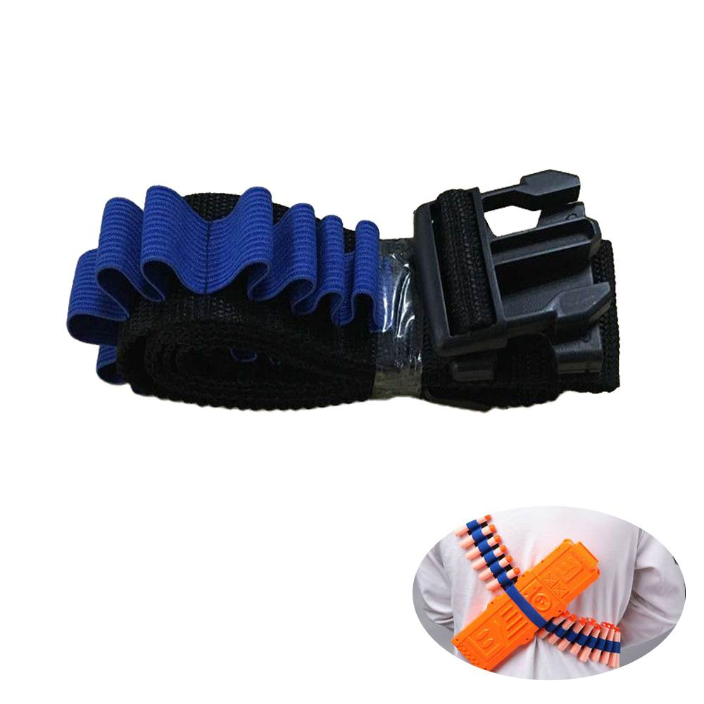 Toy Car Holder Strap : Blue kids toy gun bullet shoulder strap darts ammo storage