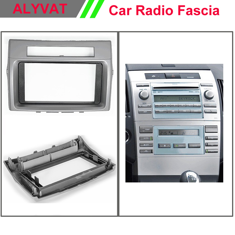 Car DVD GPS Radio Fascia Panel for Toyota Corolla Verso 2004-2009 Stereo Dash Facia Trim Surround CD Installation Kit