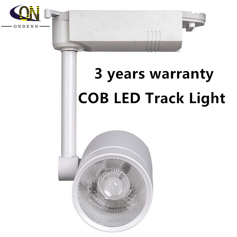 25W COB Led Track Light Clothing Store Spot Lighting Rail