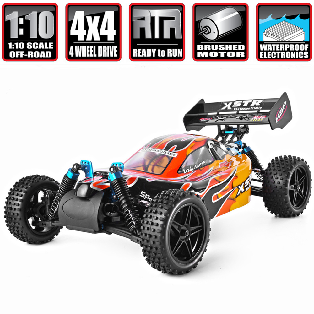 HSP Racing 1:10 4wd Off Road Buggy 94107 Rc Car Electric Power vehicle 4x4 High Speed Hobby Remote Control CarHSP Racing 1:10 4wd Off Road Buggy 94107 Rc Car Electric Power vehicle 4x4 High Speed Hobby Remote Control Car